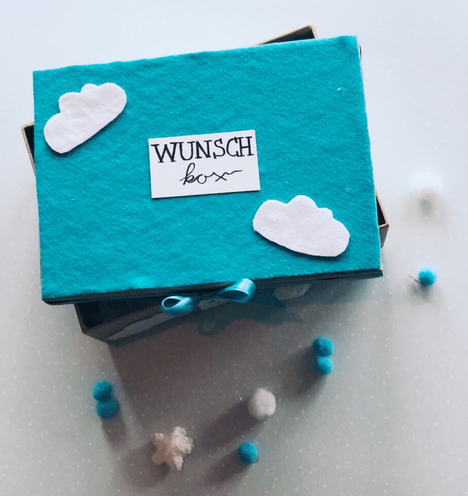 Wunschbox Baby-Party Wolken