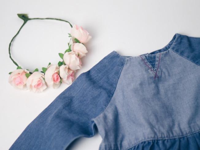 Jeanskleid für Babys