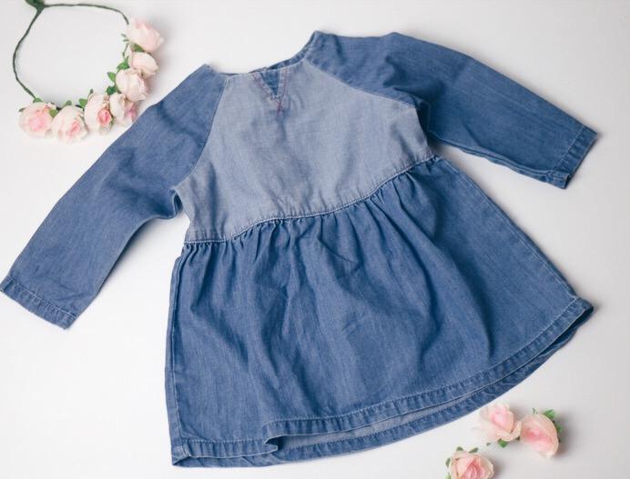 Jeanskleider für Babys und Kids