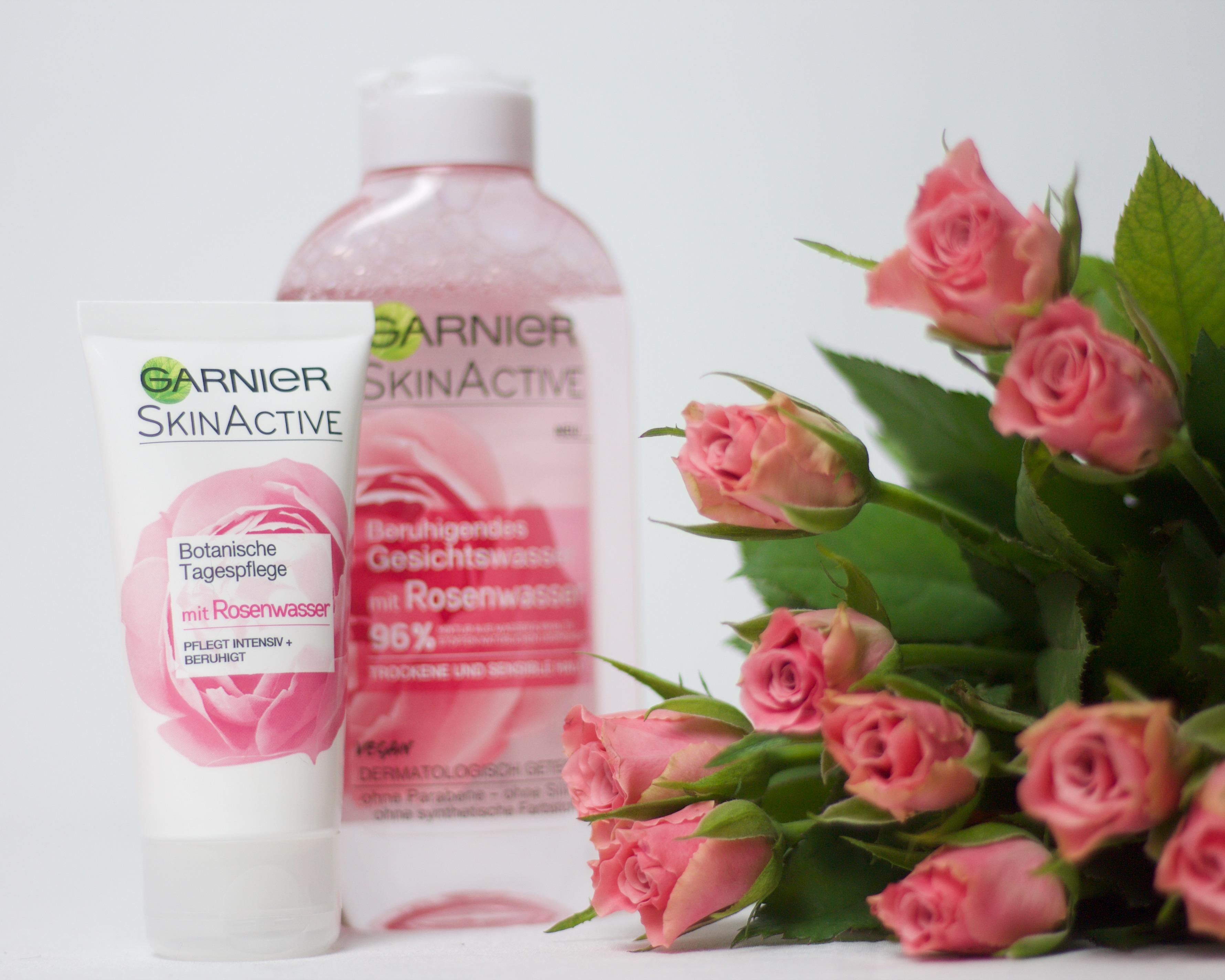 Rosenwasser Gesichtspflege