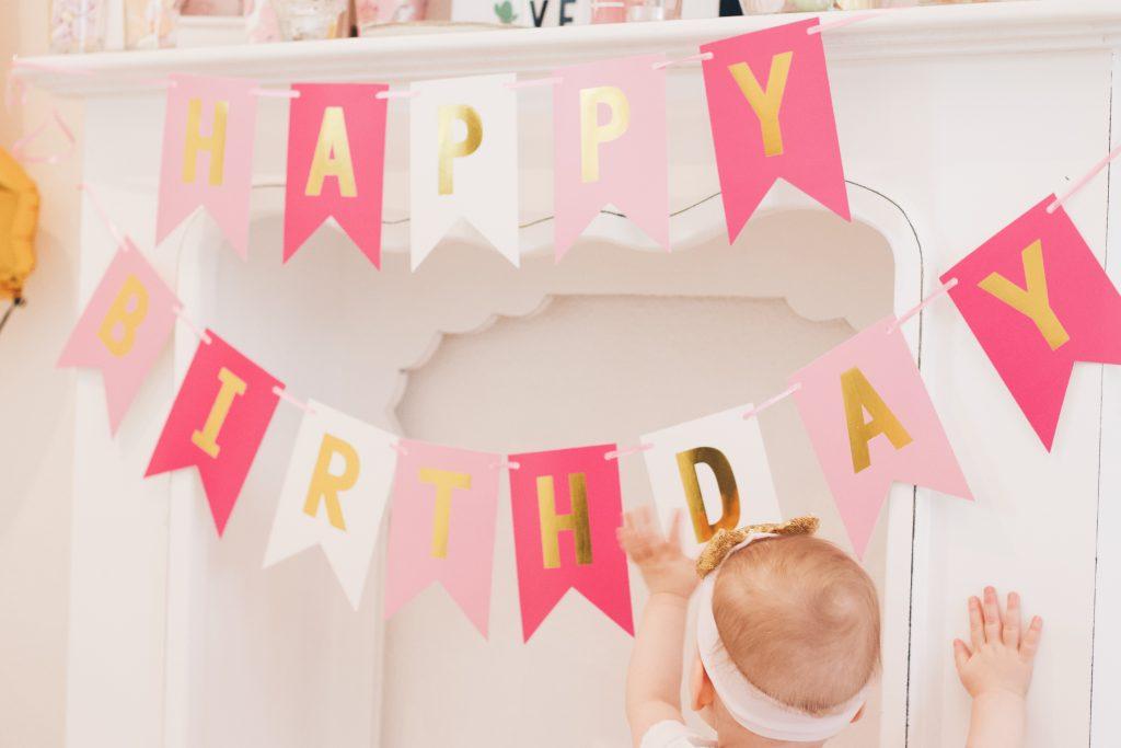 Der erste Geburtstag - Tipps und Ideen