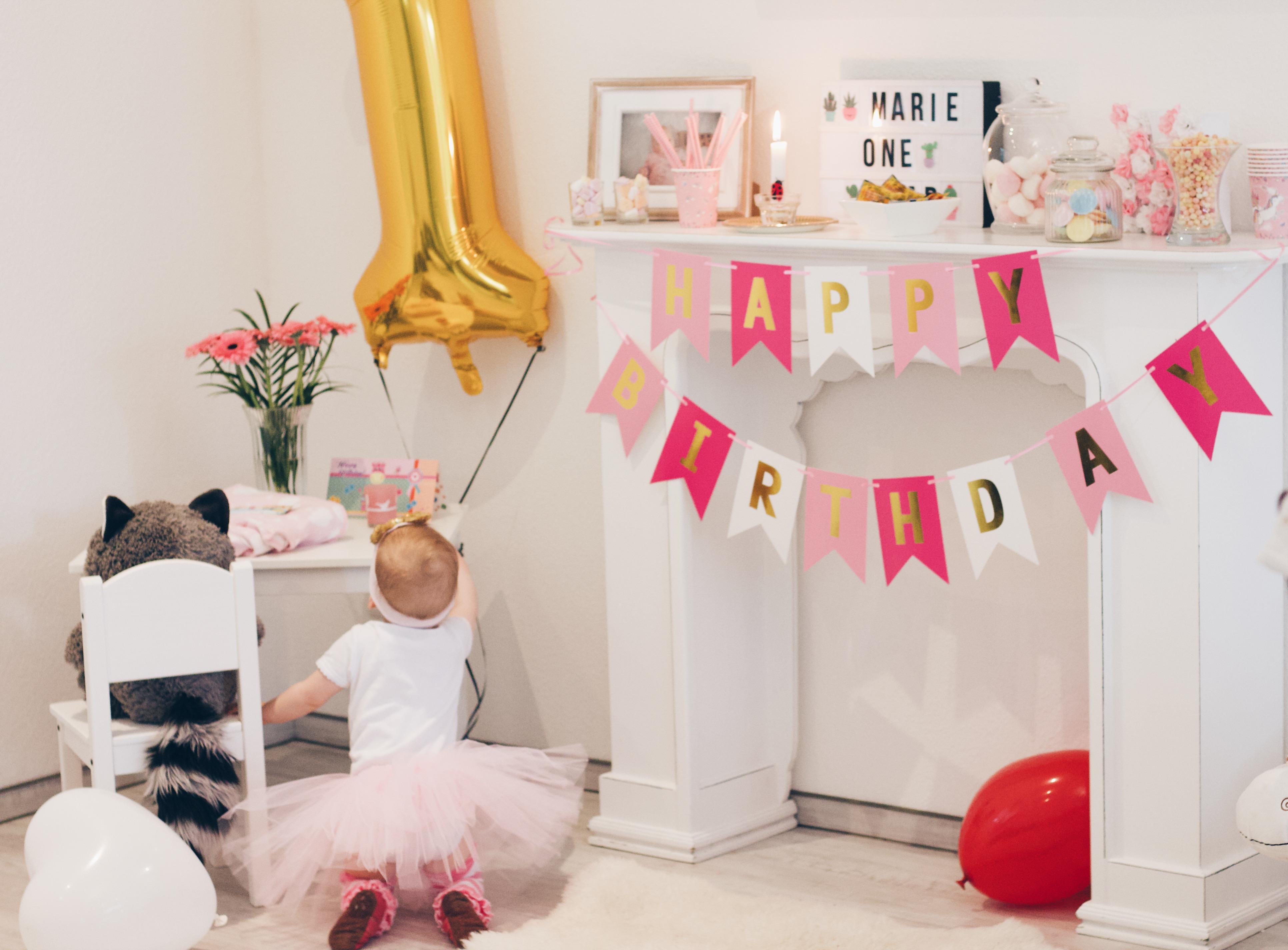 Ideen für den allerersten Geburtstag