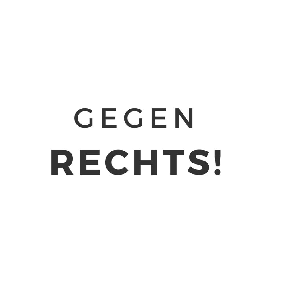 Gegen Rechts – Nazis ihr seid nicht willkommen! graphic