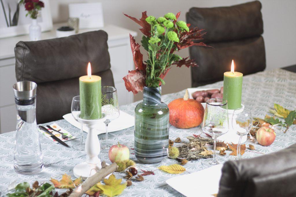 Tischdeko im Herbst graphic